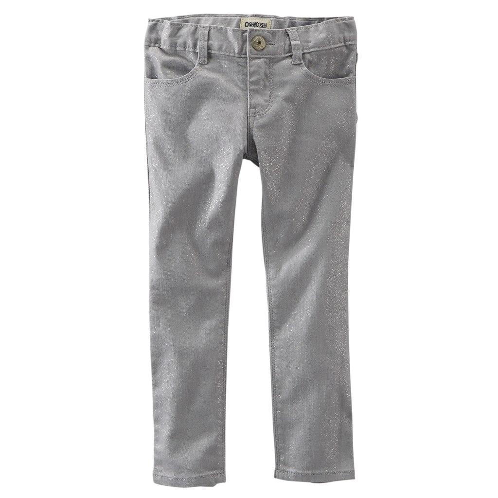 113363328 Стильные брюки, штаны, джинсы oshkosh для девочки на 6,7 лет с Америки