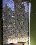 Рулонные шторы Верона бежевый, фото 4