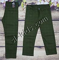 Яркие штаны,джинсы в клетку для мальчика 8-12 лет(хаки) опт пр.Турция, фото 1