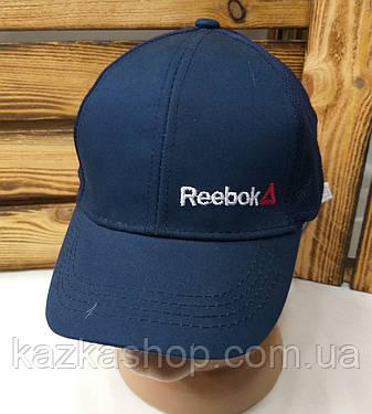 Подростковая стильная кепка с вышивкой в стиле Reebok (реплика), сзади сетка, 52-54 размер, с регулятором , фото 2