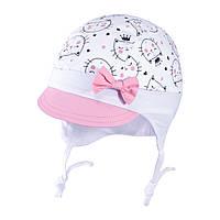 Весенняя шапочка для девочки TuTu 75 арт. 3-004625 (36-38, 44-46), фото 1