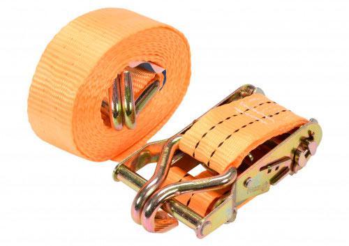 Ремень для крепления багажа с трещоткой 4 м х 38 мм 2 шт. - VOREL