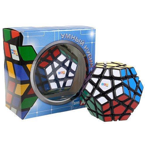 Кубик Рубика Мегаминкс черный Smart Cube (SCM1)
