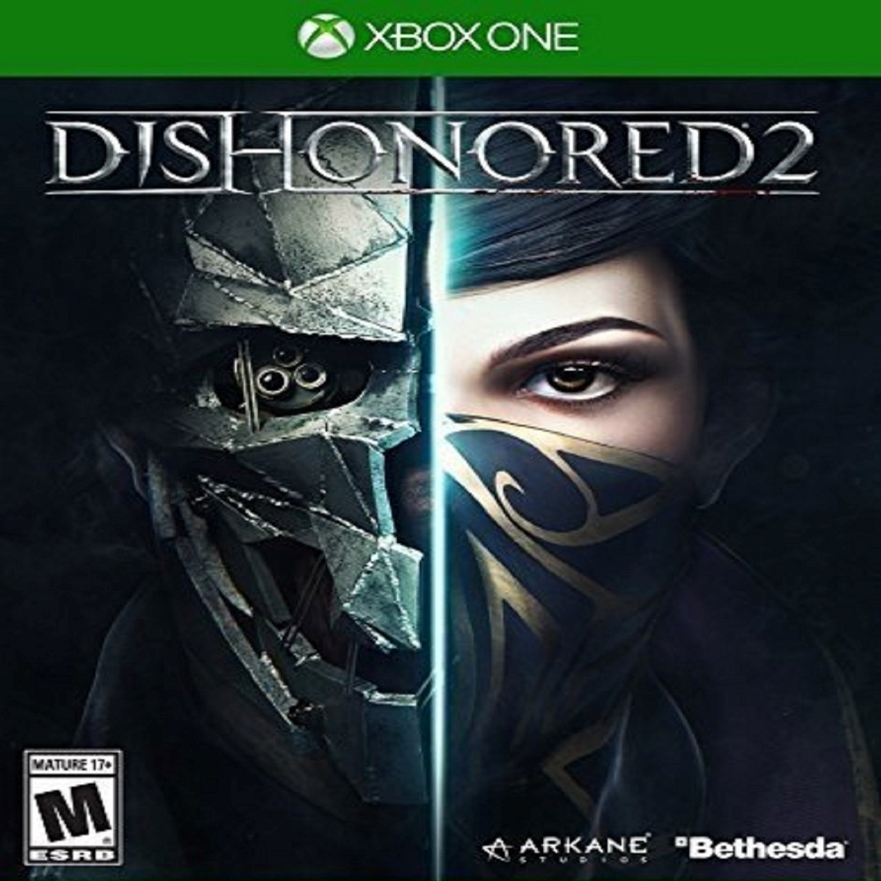 Dishonored 2 (англіська версія) XBOX ONE (Б/В)