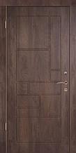 Двери уличные, серия Люкс, VINORIT, модель Тарифа, гнутый профиль, коробка 100 мм, полотно 76 мм, ковка