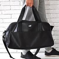 Спортивная сумка Puma 114643 багажная дорожная искусственная кожа плечевой ремень 50см х 30см х 25см , фото 1