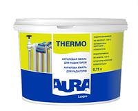 Aura Luxpro Thermo 2,5 л, белая эмаль для радиаторов акриловая арт.4820166521302