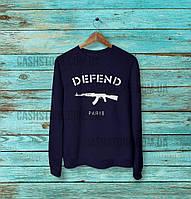Cвитшот   Толстовка   Defend Paris   Унисекс