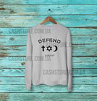 Cвитшот Defend Paris Coexist