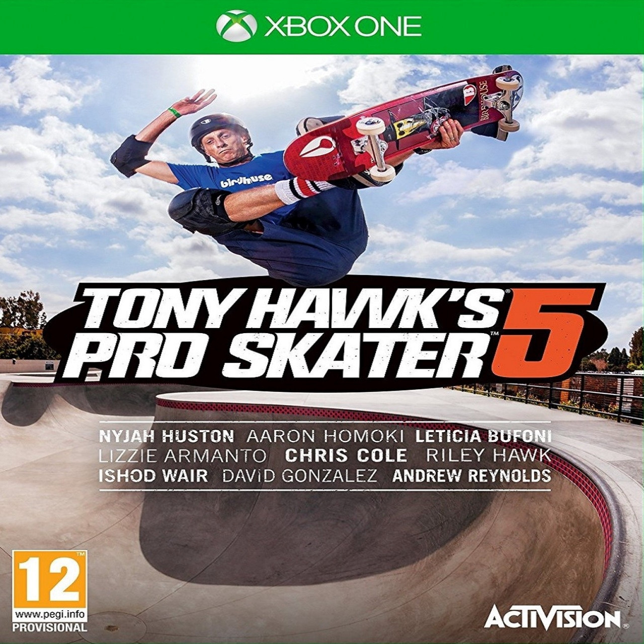 Tony Hawk's :Pro Skater 5 ENG XBOX ONE (Б/В)