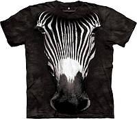 3D футболка The Mountain -  Big Face GrevyS Zebra