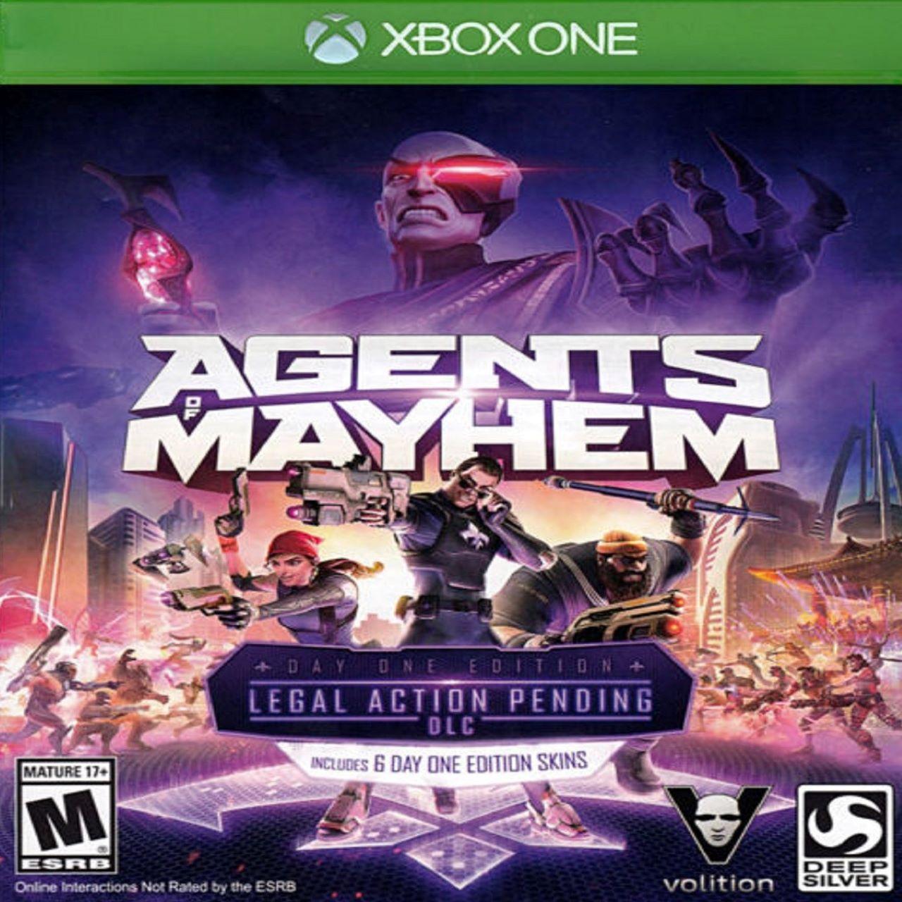 Agents of Mayhem ENG Xbox One