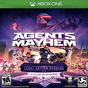 Agents of Mayhem ENG Xbox One (NEW)