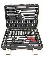 Полупрофесиональний набор инструмента, ключей BOXER Польша 121 предметов CrV