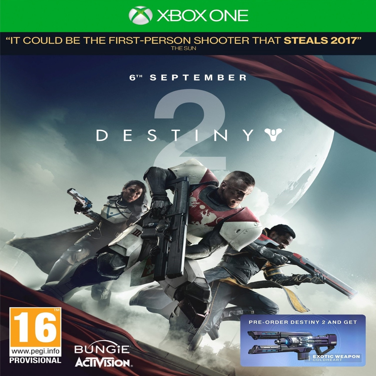 Destiny 2 (російська версія) XBOX ONE (Б/В)