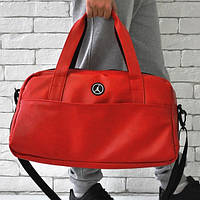 38d6e21ae755 Спортивная сумка NBA 114641 багажная дорожная искусственная кожа копия 50см  х 30см х 25см