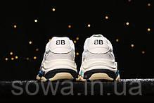 "✔️ Кроссовки Balenciaga Triple S 2.0 ""Grey/Blue/Black"" , фото 3"
