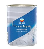 Eskaro Floor Aqua 2,7 л Краска для полов Белая арт.4740381014444