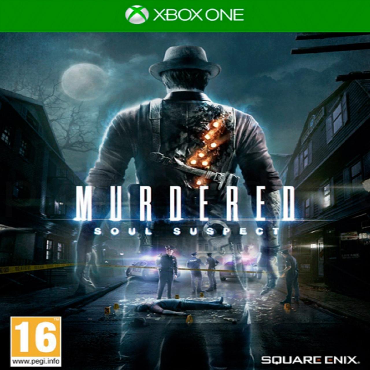 Murdered Soul Suspect (русская версия) XBOX ONE (Б/У)