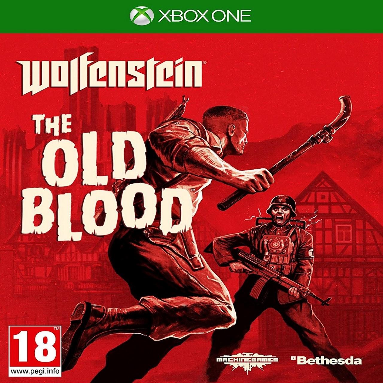 Wolfenstein: The Old Blood RUS XBOX ONE (Б/В)