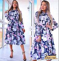 Красивое нежное женское платье разные расцветки , фото 1
