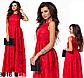 Выпускное платье в пол с напылением (бордовый) 828514, фото 3
