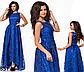 Выпускное платье в пол с напылением (бордовый) 828514, фото 4