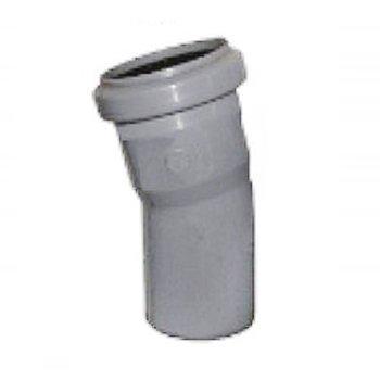 Уголок для канализации 110 мм колено (20 градусов)