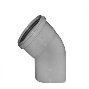 Уголок для канализации 32 мм колено (45 градусов)