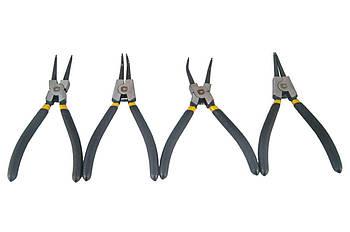 Набор щипцов для стопорных колец Сила - 175 мм (4 шт.) Pro (310705)