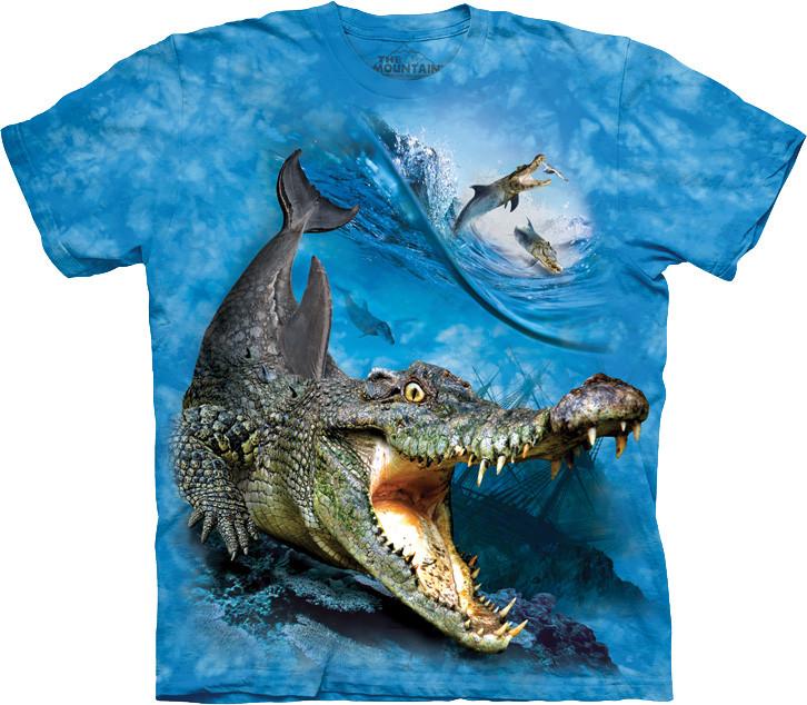 3D футболка The Mountain -  Crocodolphin