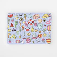 Чехол для ноутбука РишаМясов 11 - 17.3 дюймов с рисунком Пляжные мотивы (ch00253)
