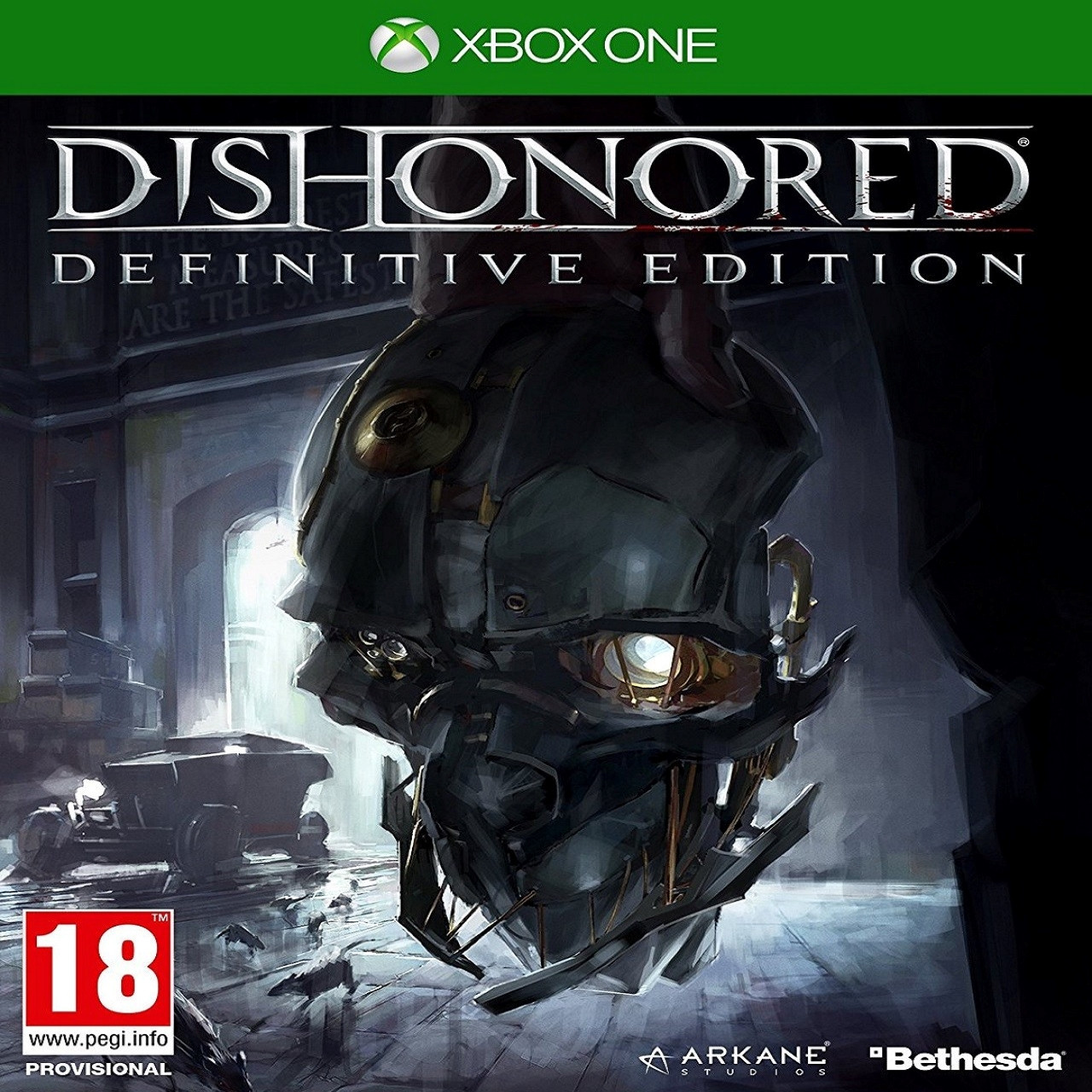 Dishonored:Definitive Edition RUS XBOX ONE (Б/В)