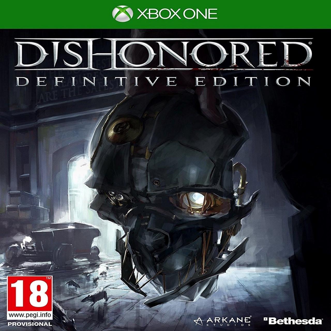 Dishonored:Definitive Edition (русская версия) XBOX ONE (Б/У)