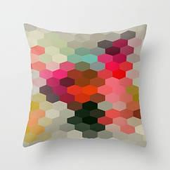 Подушка декоративная с рисунком Alturas 45х45 см (pod00002)