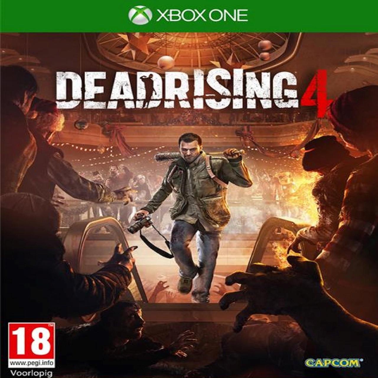 Dead Rising 4 (російські субтитри) XBOX ONE (Б/В)