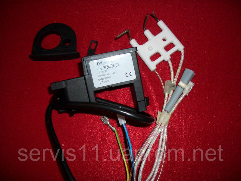Трансформатор поджига Ariston Clas Genus + электрод розжига