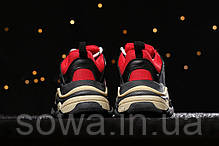 "✔️ Кроссовки Balenciaga Triple S 2.0 ""Red/Black""  , фото 3"