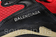 "✔️ Кроссовки Balenciaga Triple S 2.0 ""Red/Black""  , фото 2"