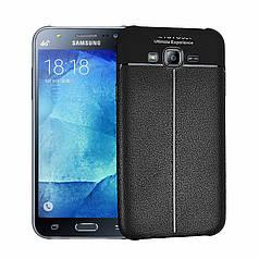 Чехол Touch для Samsung J7 2015 J700 J700H бампер оригинальный Auto focus Black