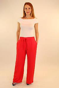 Комбинезон майка плюс широкие красные брюки 42-48 р