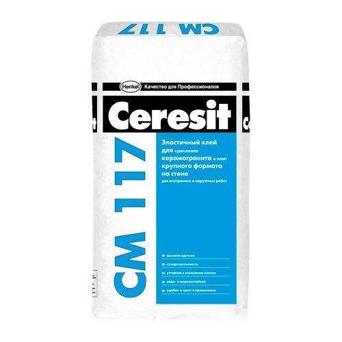 Клей для натурального и искусственного камня CERESIT CM-117  (5 кг)