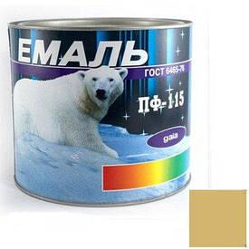 Краска Эмаль ПФ-115 бежевая (2,8 кг)