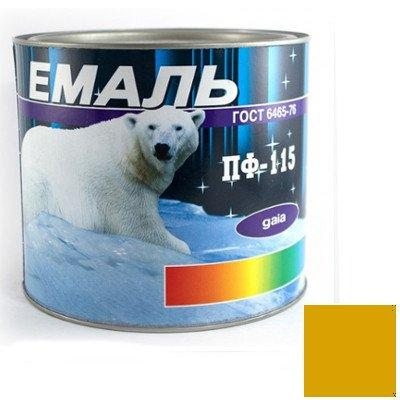 Краска Эмаль ПФ-115 желтая (2,8 кг)
