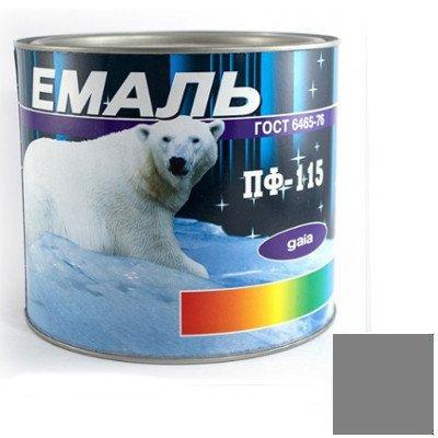 Эмаль ПФ-115 серая (2,8 кг)