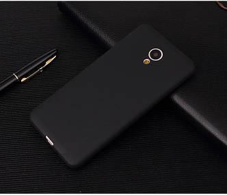 Чехол Style для Meizu M5 note Бампер силиконовый черный