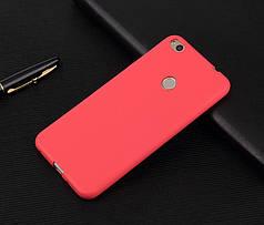 Чехол Бампер Style для Huawei P8 Lite 2017 / P9 Lite 2017 силиконовый красный