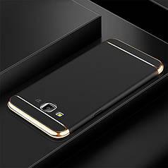 Чехол Fashion для Samsung J7 2015 / J700H / J700 / J700F бампер черный