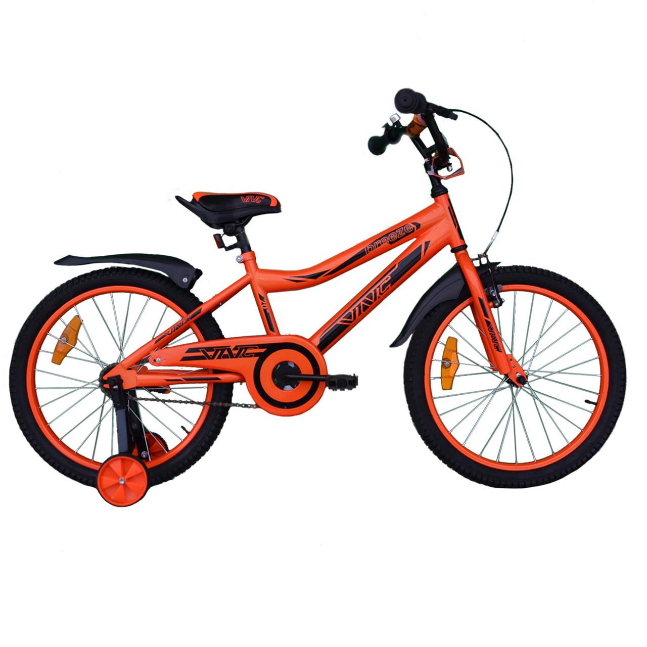 """Велосипед VNC 20"""" Breeze, 2017-GS, Оранжевый / Черный 10"""""""
