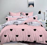 Полуторный комплект постельного белья 100%хлопок